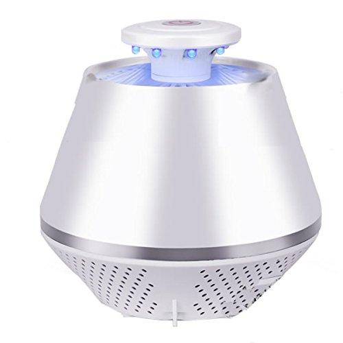 1stモール 虫ソルジャー 光 逆流ファン搭載 蚊 掃除機 虫よけ 自動 除去 寝室 リビング USB (ホワイト) ST-MWD001-WH
