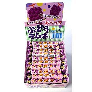 あべっ子 ぶどうラムネ(14粒)×60個×1箱