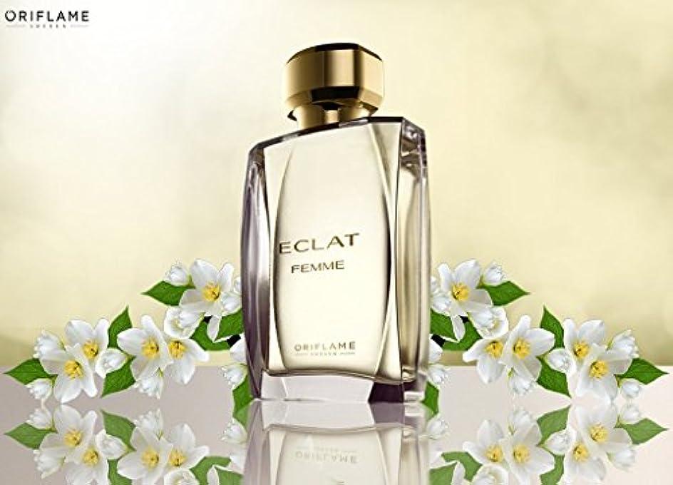 滑るレポートを書く鎖ORIFLAME Eclat Femme Eau De Toilette Natural Spray 50ml - 1.6oz