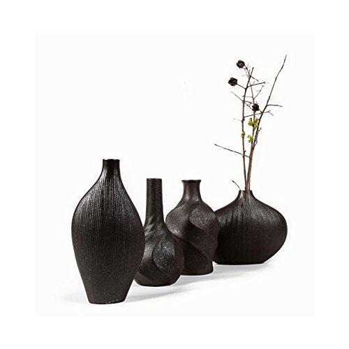 [해외]BYM 꽃 입 미니 꽃병 4 세트 꽃병 고급 도자기/BYM flower vase mini vase 4 sets single bowl inserted elegant pottery