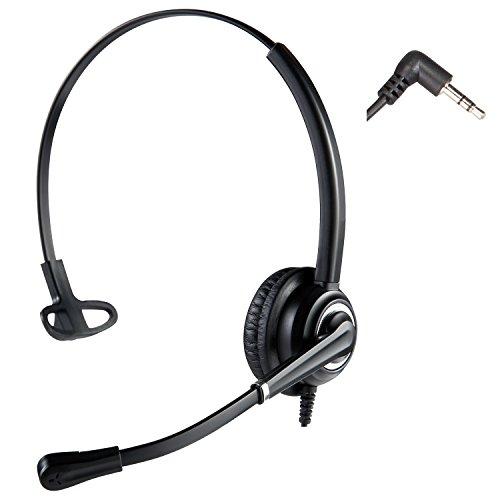 [해외]전화 헤드셋 콜 센터 헤드셋 노이즈 캔슬링 마이크 포함/Telephone headset call center headset with noise canceling microphone
