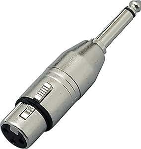 KC 変換コネクター XLR(F)/Phone(M) CA309