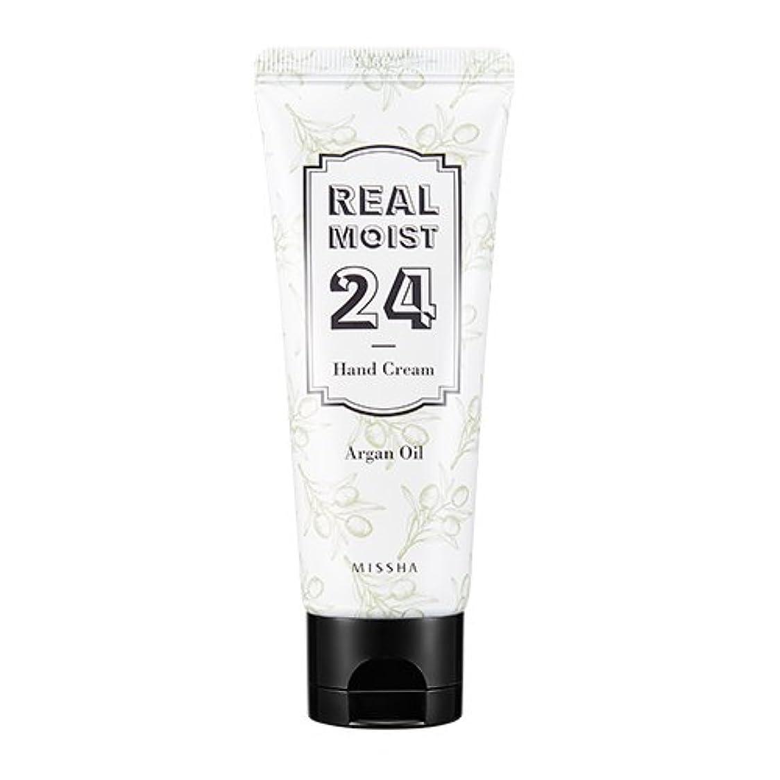 はちみつ正当化するマラソン[New] MISSHA Real Moist 24 Hand Cream 70ml/ミシャ リアル モイスト 24 ハンドクリーム 70ml (#Argan Oil)