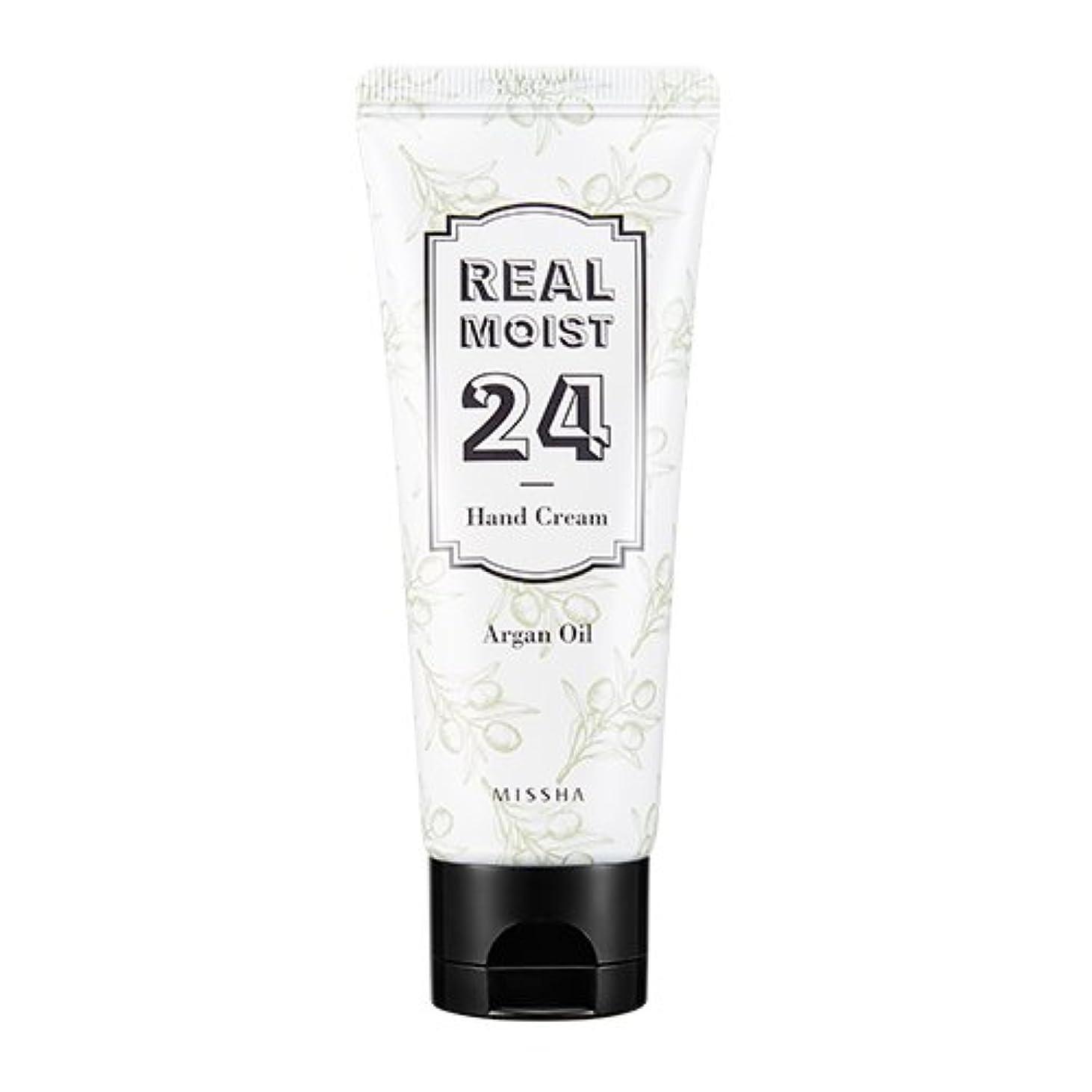 釈義軽蔑する柔らかさ[New] MISSHA Real Moist 24 Hand Cream 70ml/ミシャ リアル モイスト 24 ハンドクリーム 70ml (#Argan Oil)