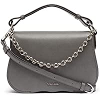 Calvin Klein Western Novelty Statement Chain Flap Crossbody