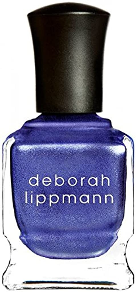 謎めいたまた明日ねグラム[Deborah Lippmann] デボラリップマン ハーレムノクターン HARLEM NOCTURNE とても乾きが速く筋になりにくいクロームシリーズ 夜へ向かう空のような深い青と日の光を混ぜたような 深く静かに光る...