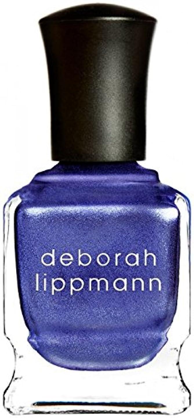 腹部謙虚なルーフ[Deborah Lippmann] デボラリップマン ハーレムノクターン HARLEM NOCTURNE とても乾きが速く筋になりにくいクロームシリーズ 夜へ向かう空のような深い青と日の光を混ぜたような 深く静かに光る...