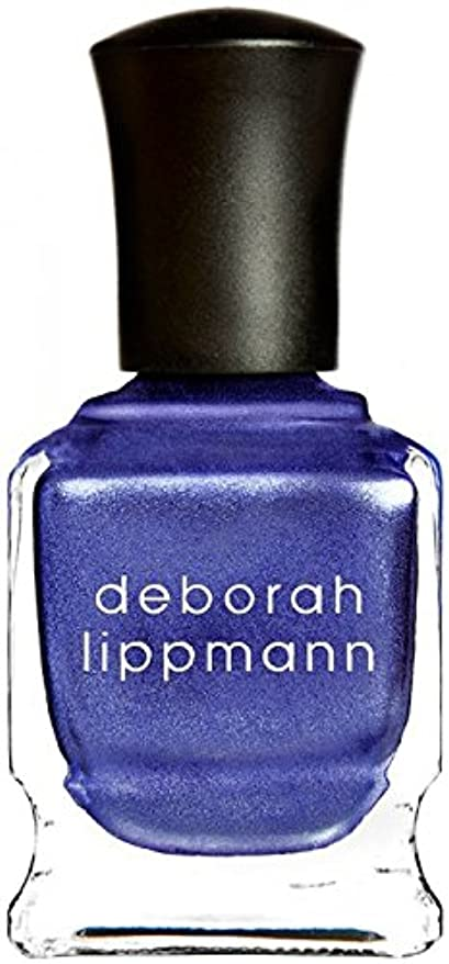 蒸発するリア王まあ[Deborah Lippmann] デボラリップマン ハーレムノクターン HARLEM NOCTURNE とても乾きが速く筋になりにくいクロームシリーズ 夜へ向かう空のような深い青と日の光を混ぜたような 深く静かに光る...
