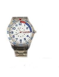 IZODステンレススチールメンズ腕時計