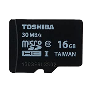 microSDHC 16GB Toshiba 東芝 UHS-I 超高速30MB/s 並行輸入品