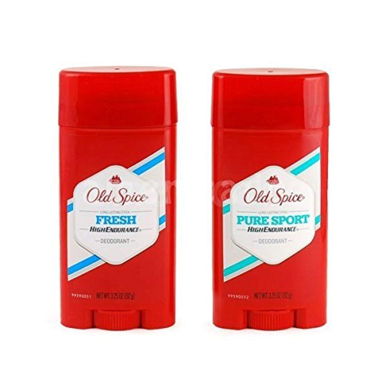 フラップ疾患ちらつきOld Spice デオドラント 男性用 (Fresh, PureSport) [並行輸入品]