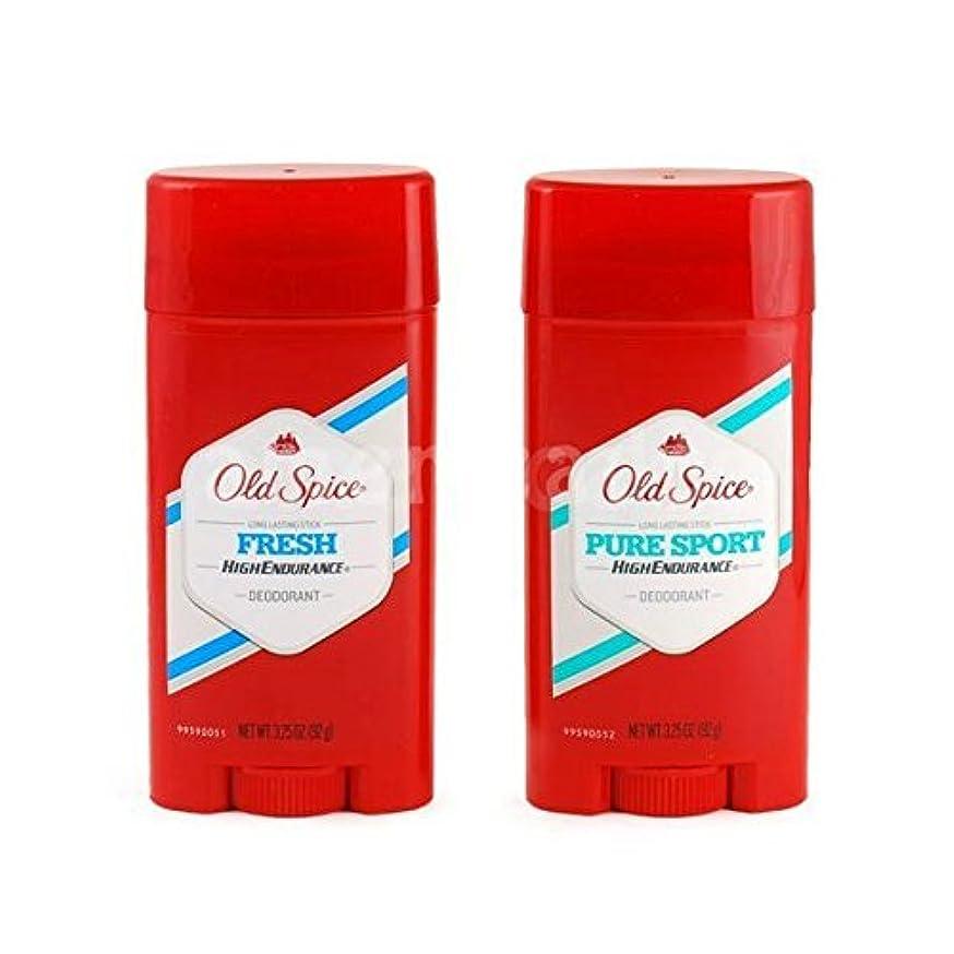 生産的簡略化する種をまくOld Spice デオドラント 男性用 (Fresh, PureSport) [並行輸入品]
