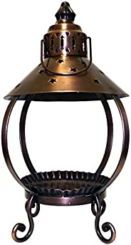 A Cheerful Giver Copper Star Lantern