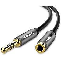 UGREEN ステレオオーディオケーブル 延長 オーディオコード 標準3.5mm ステレオミニプラグ 高音質 ヘッドホンケーブル スピーカー、PC、スマホ、TV、車等に対応 (1M)