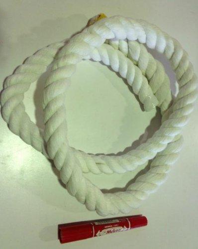 白色ロープ 太さ24mm m単位で切り売り