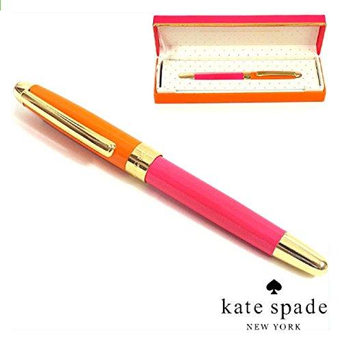 kate spade new york オレンジ&ピンク ボー...