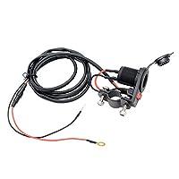 B Baosity オンオフ スイッチ ソケット シガーライター プラグ ソケット 12V 24V 車 トラック 車用電化製品