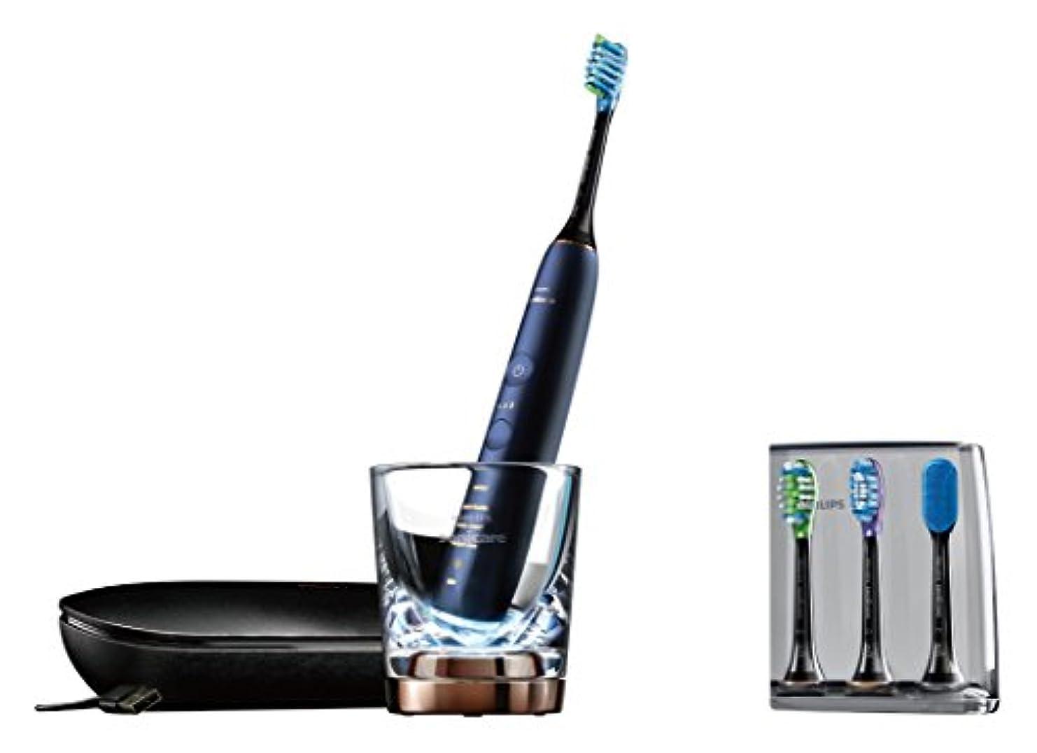 フィドル道を作る配分フィリップス ソニッケアー ダイヤモンドクリーン スマート 電動歯ブラシ ルナーブルー HX9964/55