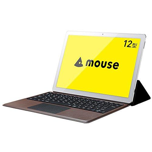 【マインクラフトバンドル】mouse 2in1 タブレット ノートパソコン MT-WN1201S Windows10/12型/128GB