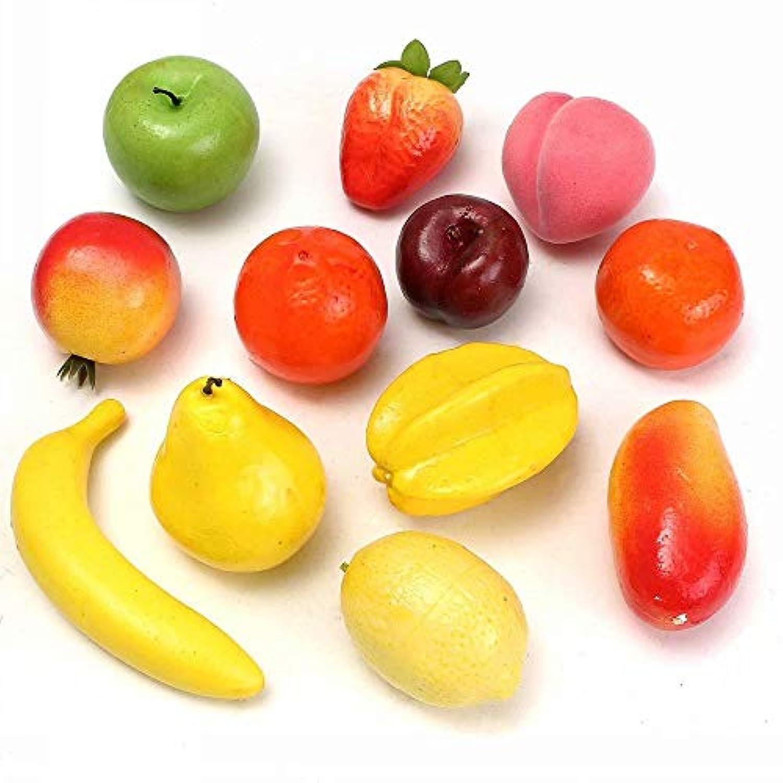 フルーツ 果物 模型 食品サンプル ホーム クラフト アート おもちゃ 親子遊び