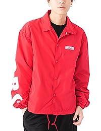 (ベストマート)BestMart ストリート系 袖 ビッグ プリント コーチジャケット メンズ 623643