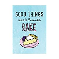 Quote Typography Bake Cake Good Things Picture Art Wall Art Print 見積もりタイポグラフィ良い画像壁