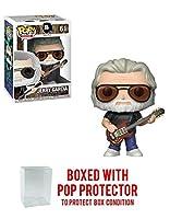 POP! ロック:ジェリー・ガルシア グレートフル デッド ビニールフィギュア (ポップボックスプロテクターケース付き)