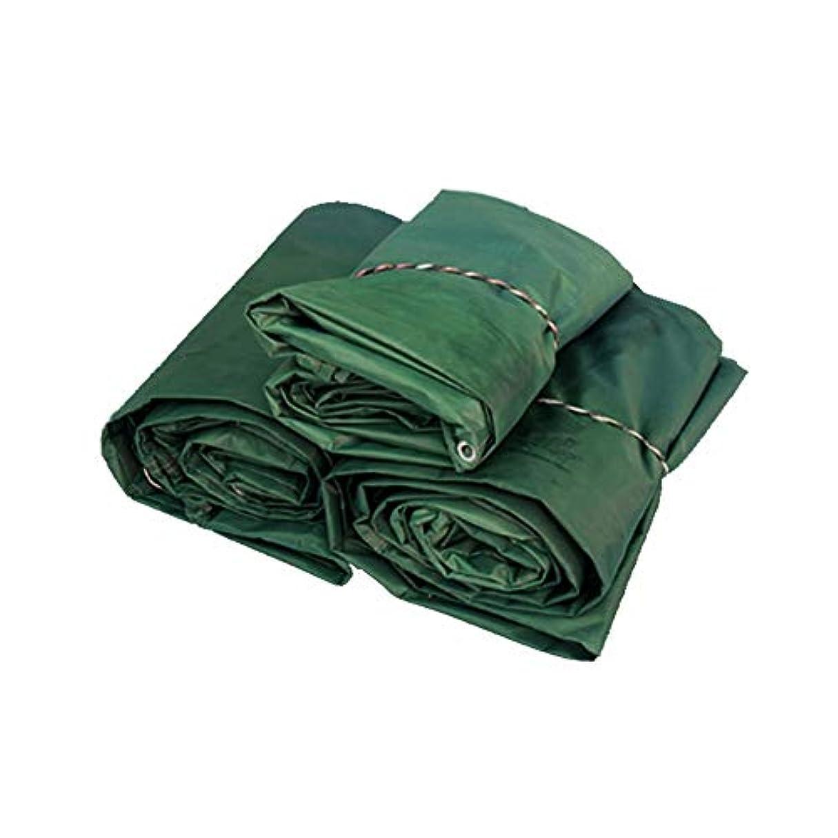 シーン肥料ほめるZX タープ ターポリン 厚くする レインプルーフ 布 日焼け止め アウトドア キャノピー 車 布 プラスチック テント アウトドア (色 : 緑, サイズ さいず : 3X4m)