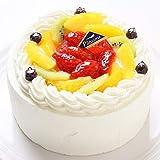 卵不使用ケーキ フレッシュフルーツ乗せフレッシュ生クリームのショートケーキ