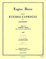 ボザ : サクソフォンのための12の練習奇想曲 (サクソフォン教則本) ルデュック出版