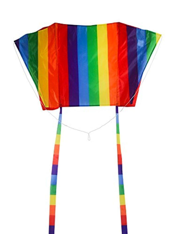 In the Breeze Sled Kite – Frameless Kite – Rainbowストライプ、30