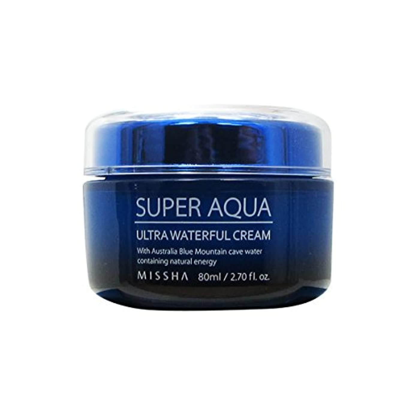 若さ抽出相談Missha Super Aqua Ultra Waterful Cream 80ml [並行輸入品]