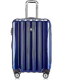 [デルセー] Delsey HELIUM AERO スーツケース 機内持込 鏡面加工 多機能 軽量 100%PC 5年国際保証付