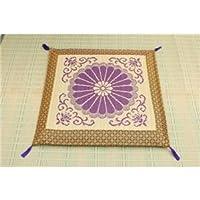 純国産/日本製 袋織 い草御前(仏前) 座布団 『三千院』 約70×70cm