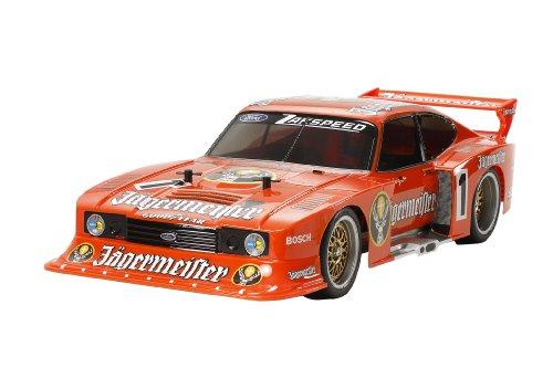 1/10 電動RCカーシリーズ No.590 ザクスピード イェーガーマイスター フォード カプリ Gr.5 (TT-02シャーシ) 58590