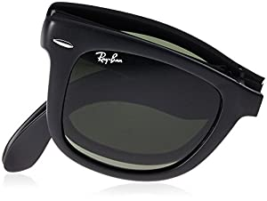 (ビームス) BEAMS Ray-Ban / WAYFARER 折 11422372451 18 601S マットBLACK ONE SIZE