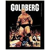 ビル・ゴールドバーグwwfレスリングの署名の写真# s33744 psa dna公認直筆サイン入り写真・レスリング【並行輸入】