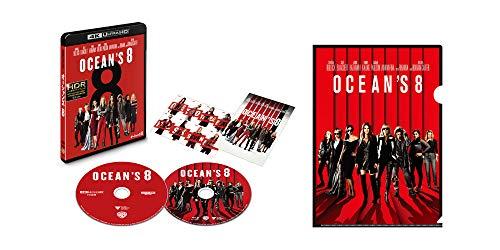 【Amazon.co.jp限定】オーシャンズ8 4K ULTRA HD&ブルーレイセット (初回仕様/2枚組/ポストカード付) (オリジナルA4クリアファイル付) [Blu-ray]