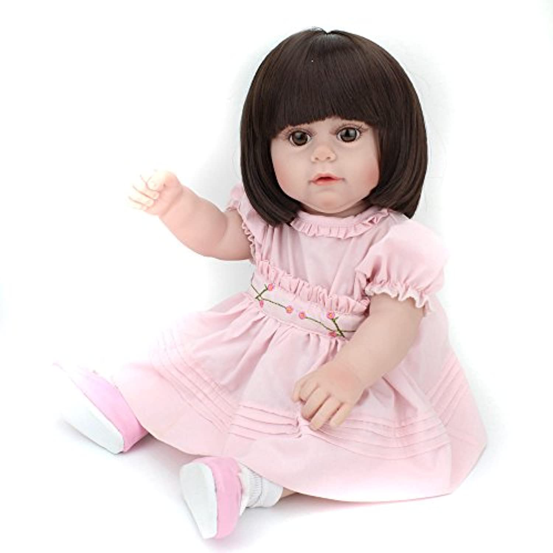 Lifelike人形RebornベビーGirlsシリコンGirls Boysおもちゃfor Toddlersギフト
