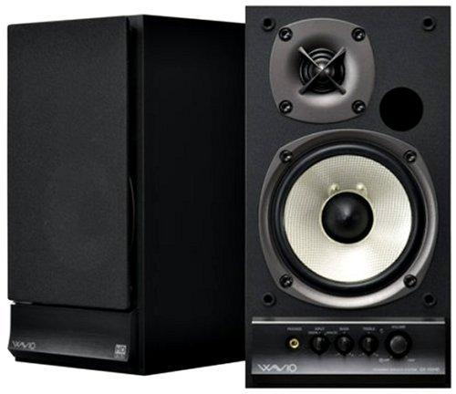 ONKYO WAVIO パワードスピーカーシステム 15W+15W ハイレゾ音源対応 ブラック GX-100HD(B)