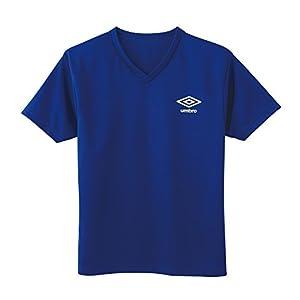 [アンブロ] Tシャツ DRY メッシュ クルーネック ボーイズ UBS45 ブルー 日本 160 (日本サイズ160 相当)