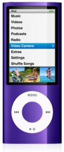 Apple iPod nano 第5世代 16GB パープル MC064J/A