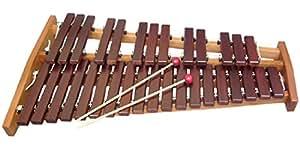 プレゼントに人気:高品質卓上木琴(卓上シロフォン) コオロギ ECO32-バチ付き