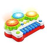 NextX ドラム おもちゃ 赤ちゃん ベビー たいこ 多機能 キーボード 知育 玩具 四つモードつき