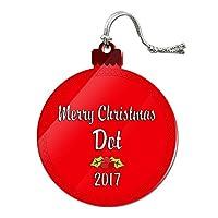 クリスマスドット年とアクリルオーナメント