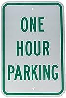 Brady 115540 Parking Sign Text 18 x 12 Green/White [並行輸入品]