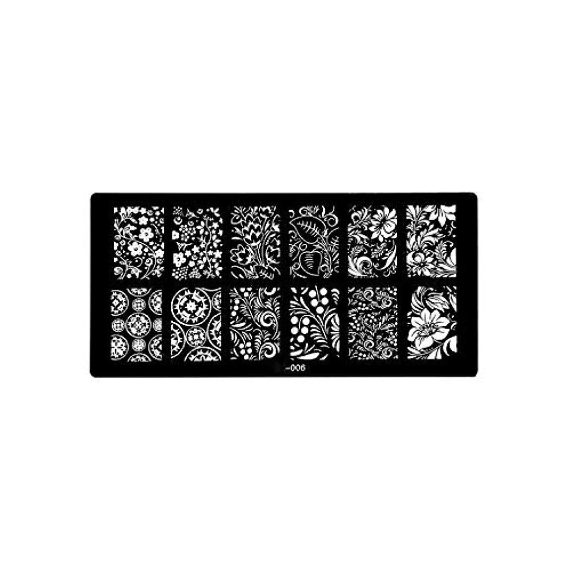 連鎖増幅器内なる1ピース6 * 12センチbcnシリーズネイルスタンピングプレート画像ネイルステンシル用ネイルアートスタンプマニキュアテンプレートツール,BCN006