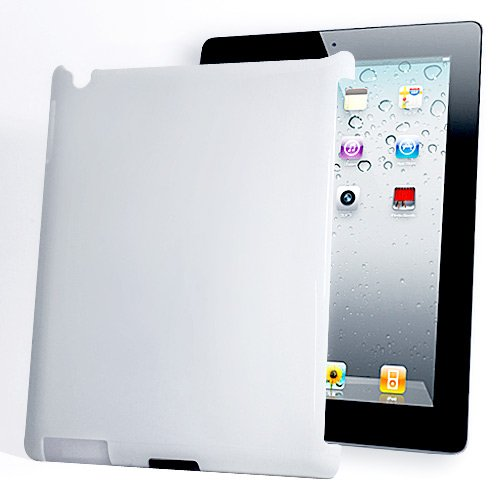 Apple THE NEW iPad iPad3 ハード ケース ホワイト(白) Hardcase For the new ipad