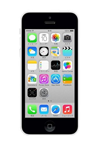 au iPhone 5c 16GB ホワイト ME541J/A 白ロム Apple
