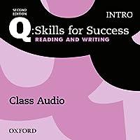 Q: Skills for Success: Intro Level: Reading & Writing Class Audio CD (x1)